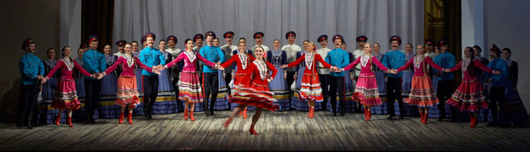 Don Cossacks Song and Dance Ensemble from Rostov